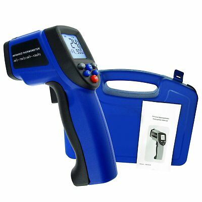 Digital IR Infrared Laser Thermometer -50~750°C / -58~1382°F Pyrometer 12:1 DS