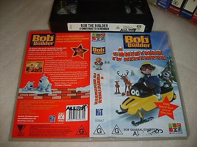vhs bob the builder a christmas to remember abc kids issue can - Bob The Builder A Christmas To Remember