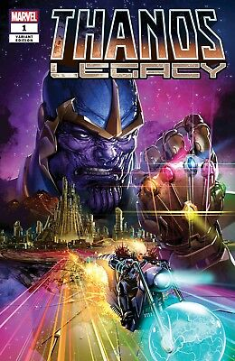Thanos Legacy 1 Clayton Crain Variant Cosmic Ghost Rider Infinity War Pre-Sale