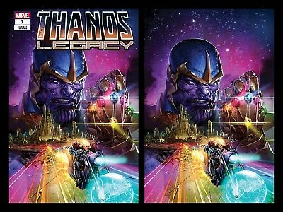 Thanos Legacy 1 Clayton Crain Virgin Variant Set Cosmic Ghost Rider Infinity War