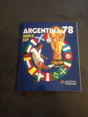 Album Panini World Cup Argentina 78 Complet Reedition Coupe Du Monde