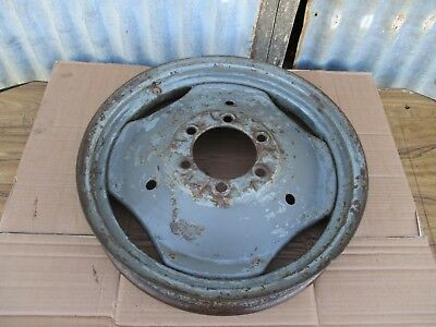 ORIGINAL MASSEY FERGUSON T20 TE20 Tractor 19 inch Front Wheel with weight  holes