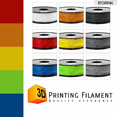 3D Drucker Filament PLA/ABS Printer Rolle Trommel 1,75mm 1kg Spule Patrone TOP