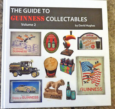"""The Guide to Guinness collectables vol 2"" new book author signed first edition"