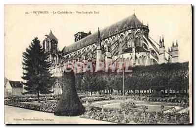 CPA Bourges La Cathedrale Vue laterale Sud