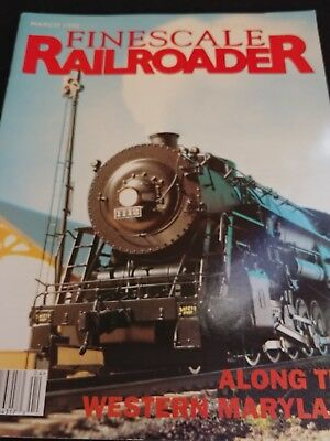 Finescaler Railroader March 1998 Along the Western Maryland