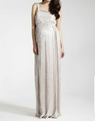 21812d3686c99 BNWT ROCK-A-BYE ROSIE Gabrielle Grecian One Shoulder Maxi Dress ...
