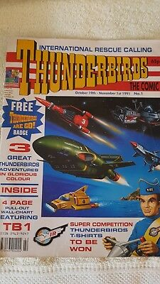 Thunderbirds The Comic Issue 1 & 2