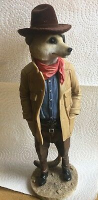 Country Artists Magnificent Meerkats Duke Figurine