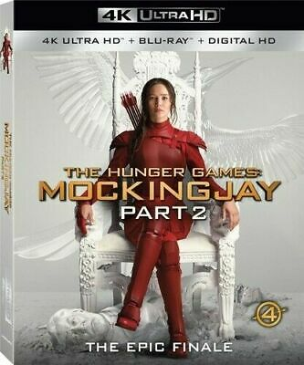 The Hunger Games: Mockingjay Part 2 [4K Blu-ray
