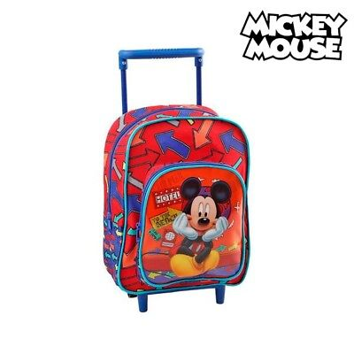 Cartable à roulettes Mickey Mouse 1834