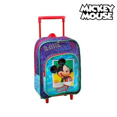Cartable à roulettes Mickey Mouse 1827
