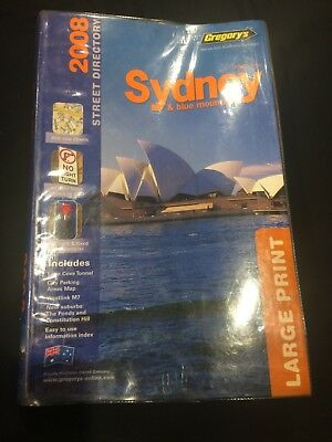 2008 Gregory's Sydney and Blue Mountains street directory