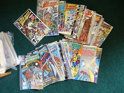 66 x Marvel Comic West Coast Avengers from no 1  1985-1994 nice job lot