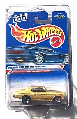 Hot Wheels 1999 First Editions 1970 Chevrolet Chevelle Ss In Protector Pack