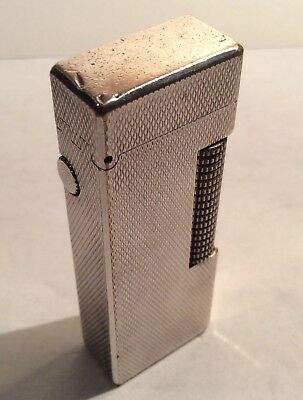 Dunhill Silver Tone Or Plate Cigarette Lighter