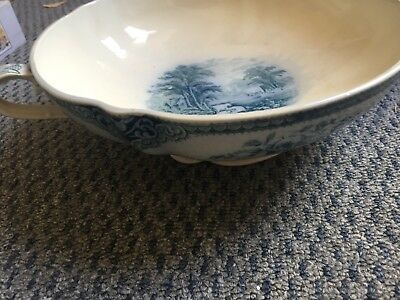 J & G Meakin The Sandown Two Handled Bowl 20.5cm