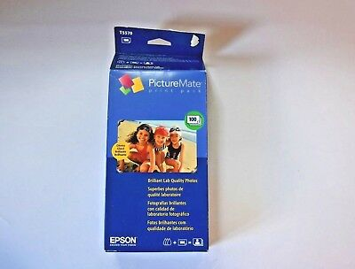 Epson Color Print Cartridge Photo Paper Picture Mate Pack T5570 NEW 09/07 Opened