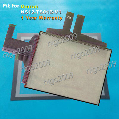 For Omron NS12-TS01B-V1 Touch Panel Glass + Protective Film 1 Year Warranty