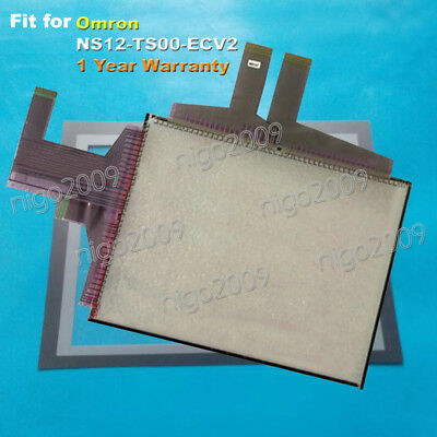 NS8TV00V2 Touch Panel Glass with Protective Film For Omron NS8-TV00-V2