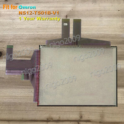 New Touch Screen Glass for Omron NS12-TS01B-V1, NS12TS01BV1 1-Year Warranty