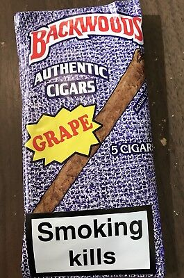 Rare Exotic Grape Backwoods Pack(100% authentic)Fresh!!