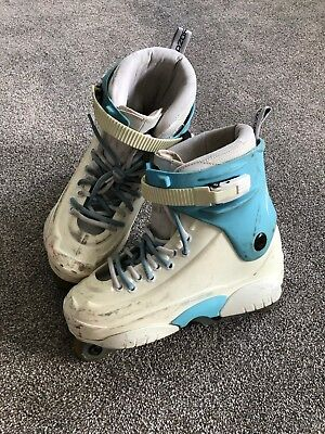 Razors Genysys Inline Skate (Size 10UK) - White and Blue