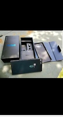 ORIGINAL Samsung Galaxy Note 8 Replacement BOX Only .WITH SOME ACCESSORIES.