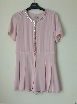 Next Girl`s Playsuits /Jumpsuits Pink Size 12 years