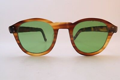 Vintage 40s sunglasses hand made in France men's small women's medium