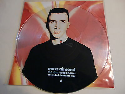 Marc Almond, The Desperate Hours,  Rare Vinyl Picture Disc !!