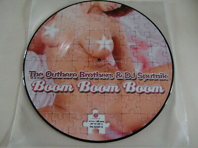 Outthere Brothers / Boom Boom Boom / Rare Vinyl  Picture Disc !!