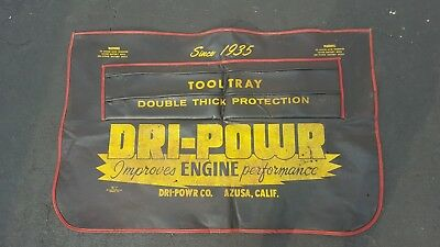 Vintage Dri-Powr Co. Fender Mat Engine Performance Azuza California