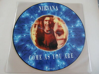 Nirvana / Come As You Are / Rare Vinyl  Picture Disc !!