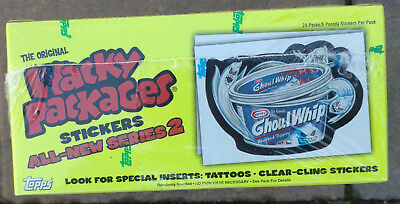 2005 Topps Wacky Packages Series 2 Box Factory Sealed W/ 24 Packs