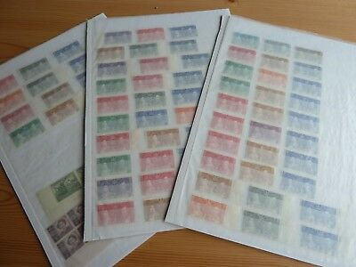 COMMONWEALTH 1937 KGVI Coronation near COMPLETE MINT MNH stamp collection + more