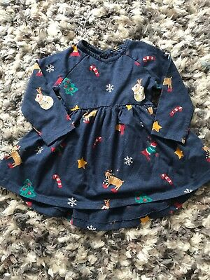 Next 9-12 Months Christmas Tunic Top