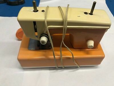 Vintage Child's Sewing Machine Battery Operated Crystal sewing machine Japan