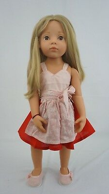 "Gotz valetine dress ""marie"" outfit fits other skinny 18"" dolls"