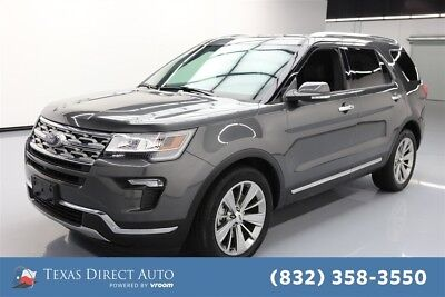 Ford Explorer Limited Texas Direct Auto 2018 Limited Used 3.5L V6 24V Automatic FWD SUV Premium