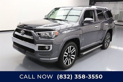 Toyota 4Runner AWD Limited 4dr SUV Texas Direct Auto 2016 AWD Limited 4dr SUV Used 4L V6 24V Automatic 4WD SUV