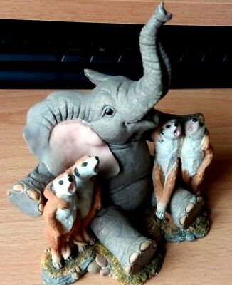 Tuskers Adventures Of Henry 91073 + Friends Cats Chorus Elephant Figure