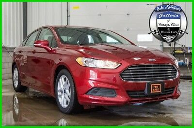 Ford Fusion 4dr Sdn SE FWD 2016 4dr Sdn SE FWD Used 2.5L I4 16V Automatic FWD Sedan LCD