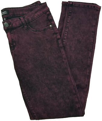 7725c56d917904 Celebrity Pink Jeans Womens Super Soft Mid Rise Skinny Jean Red Black Rinse  Sz11