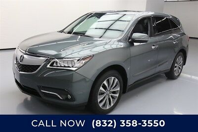 Acura MDX Tech Pkg Texas Direct Auto 2014 Tech Pkg Used 3.5L V6 24V Automatic AWD SUV Premium