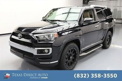 Toyota 4Runner 4x2 Limited 4dr SUV Texas Direct Auto 2014 4x2 Limited 4dr SUV Used 4L V6 24V Automatic RWD SUV