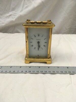 vintage  French Bayard Duverdrey & Bloquel  movement carriage clock