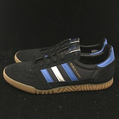 best service 151df 8162f Adidas Originals Mens Indoor Super Casual Shoes Sneakers Black - CQ2224