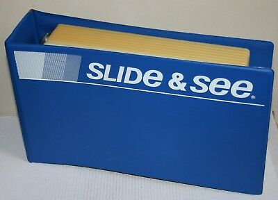 Slide & See 35mm Transparency Ring Binder / Storage Tray For Slides