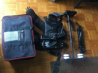 FLYCAM 5000 Video Camera Steadycam System w/Comfort Arm and Vest Up to 5Kg/11lbs